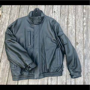 Wilsons leather men's jacket XL removable lining